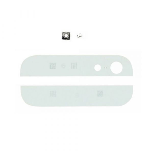 iPhone 5 Upper & Lower Glass Complete White