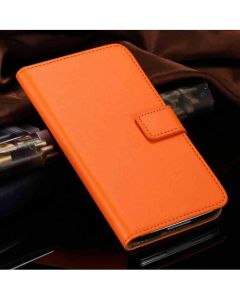 Wallet Leader Case Flip Cover Samsung S5 Orange