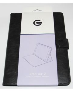Flip Stand Case For iPad Air 2 Black