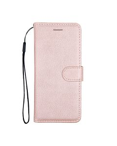 Flip Stand Leather Wallet Case For Samsung Galaxy S20 Plus Pink