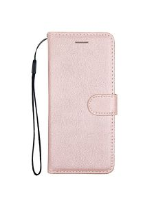 Flip Stand Leather Wallet Case For Samsung Galaxy S20 Pink