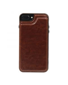Fitted Leather Case For iPhone 7 Plus/8 Plus Brown