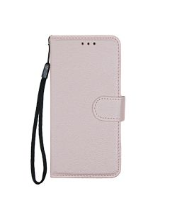 Flip Stand Leather Wallet Case For Samsung Galaxy X Cover 4/X Cover 4s Pink