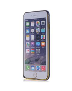 iPhone 6 Frame Black W. Gold QQT