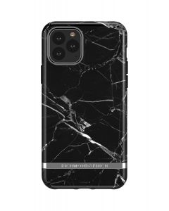 Richmond & Finch Black Marble - Silver details,iPhone 11 Pro