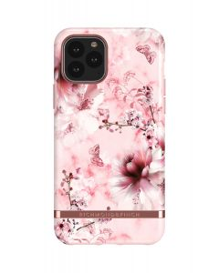 Richmond & Finch Pink Marble Floral - Rose golddetails, iPhone 11 Pro
