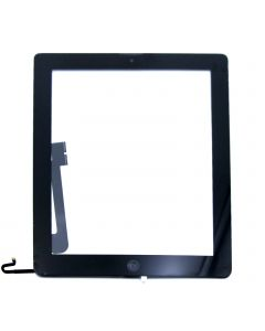iPad 4 Touch Complete Original OEM Black with home botton