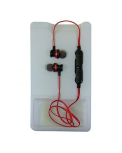 AWEI A980BL Earphones Red/Black