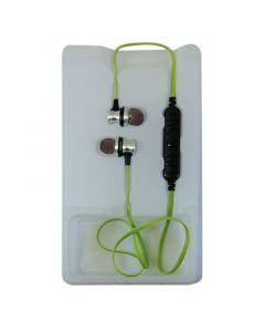 AWEI A980BL Earphones Silver/Green