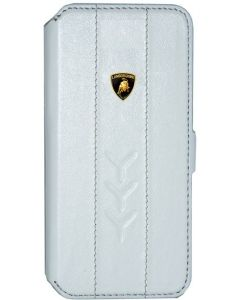 LAMBORGHINI FLIP COVER IPHONE 5 WHITE