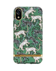 Richmond & Finch skal till IPhone X / XS - Green Leopard