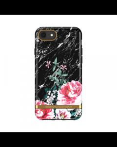 Richmond & Finch iPhone  6/7/8 Case - Black Marble Floral