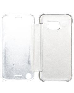 Folio Case For Samsung S7 Chrome