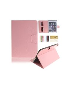 Flip Stand Leather Case For iPad Air 2 Pink
