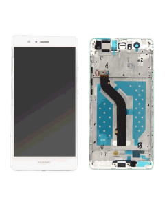 Huawei P9 Lite LCD Display original New with Frame white