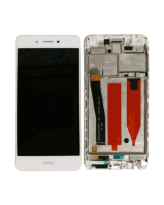HW P9 Lite LCD With Frame White