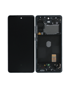 Samsung Galaxy S20 FE LCD Screen Black  With Frame