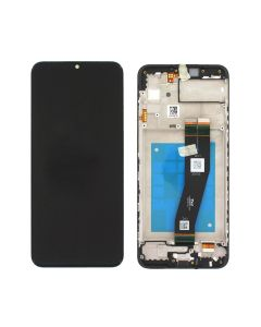 Samsung SM-A025F Galaxy A02s LCD Display + frame Black