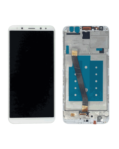 Huawei Mate 10 Lite LCD Display Original OEM white with Fram