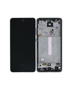 Samsung SM-A525F Galaxy A52 4G/SM-A526B Galaxy A52 5G LCD Display + Touchscreen + Frame - Violet (Original Service Pack)