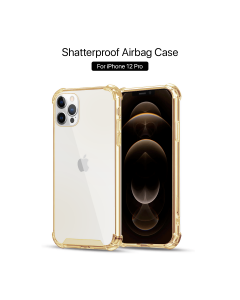 Apple iPhone 12 / 12 Pro Shockproof Case Gold
