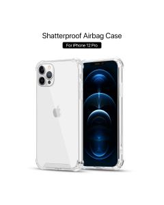 Apple iPhone 12 / 12 Pro Shockproof Case Transparent