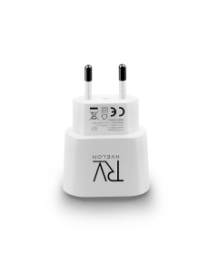 RVELON T228W- 2.1A Travel Adapter Charge White