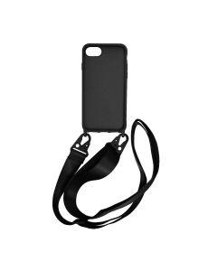 Apple iPhone 7/8/SE 2020 Liquid Silicone Case Black