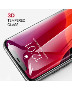 Apple iPhone 12 / 12 Pro 3D Tempered Glass Black