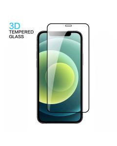 Apple iPhone 12 Mini 3D Tempered Glass Black (Bulk)