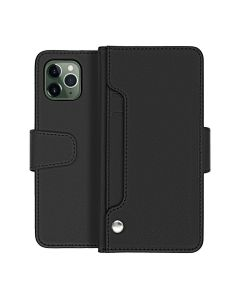 Leather Wallet Case Black for iPhone 11 Pro High Quality