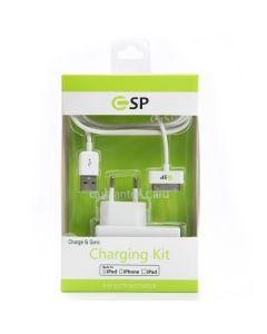 ipad 3/ iphone 4/4s Charging Kit 30-pin MFI