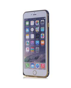 iPhone 6 Plus / 6s Plus Frame Black w. Gold QQT