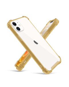 Apple iPhone 12 Mini Shockproof Case Gold