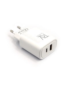 RVELON T85CQ-20W Super Fast Adapter Charge White