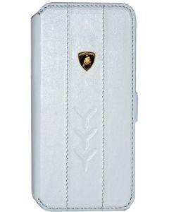 LAMBORGHINI FLIP COVER IPHONE 5 WHITE